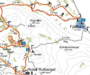 Fjälltjärn - Hotell Rutberget